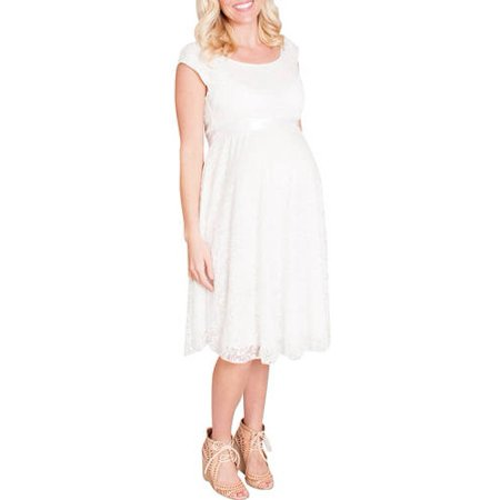 209555c358c9f Mommylicious - Maternity Floral Lace Occasional Maternity Dress - Walmart .com