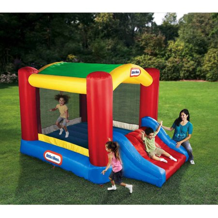 Little Tikes Shady Jump n Slide Inflatable Bounce Room