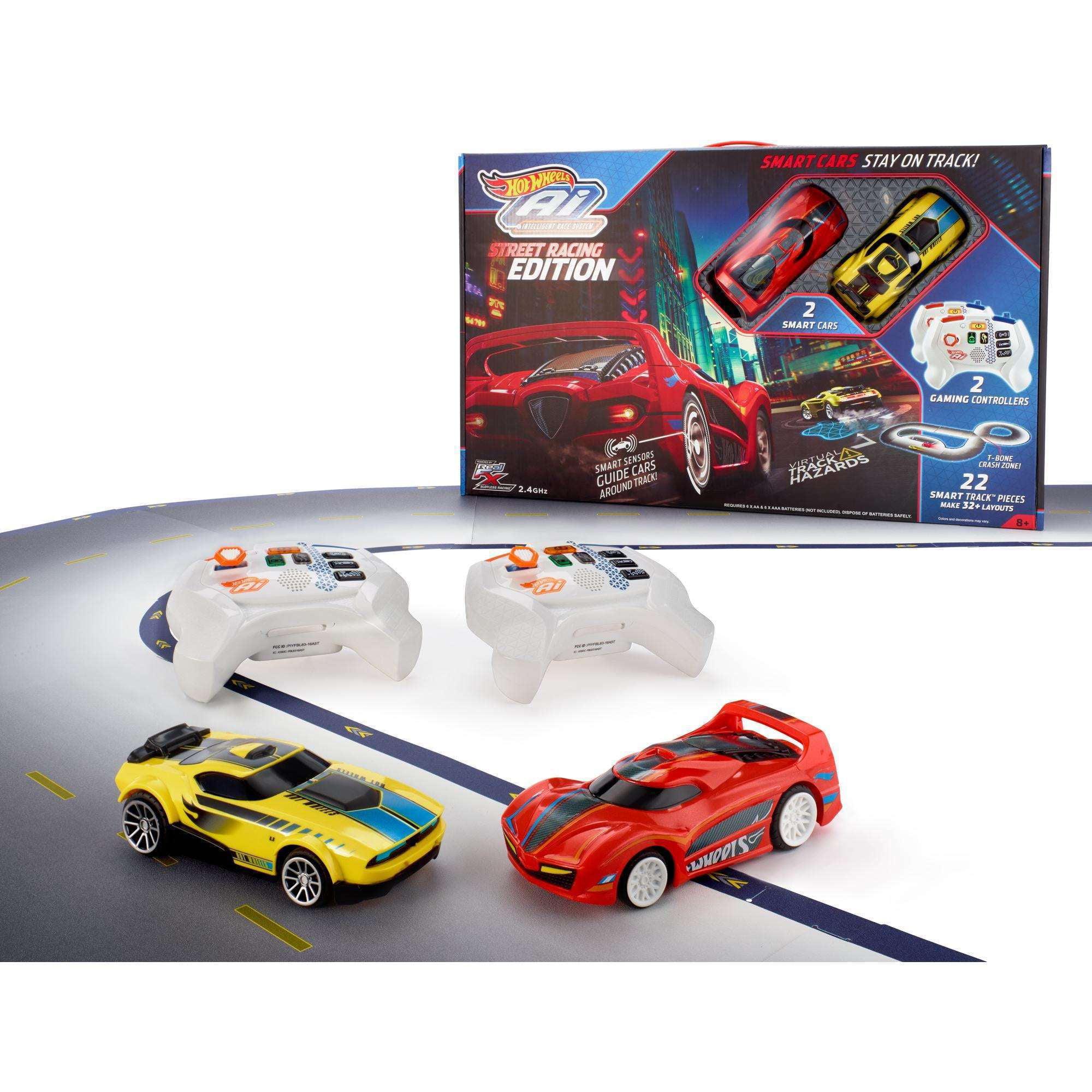 Hot Wheels Ai Starter Set Street Racing Edition Track Set by Mattel