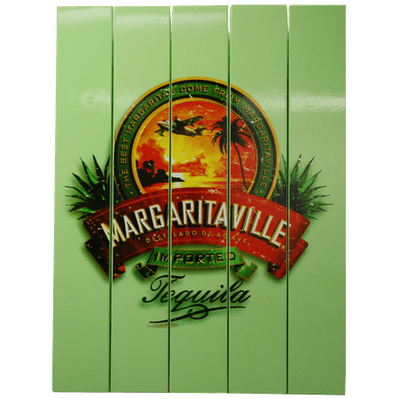 Margaritaville Imported Tequila Outdoor Wall Art Sign (Imported Tequila)