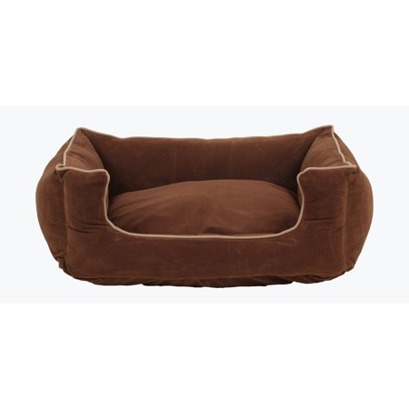 Carolina Pet Company Microfiber Low Profile Kuddle Lounge