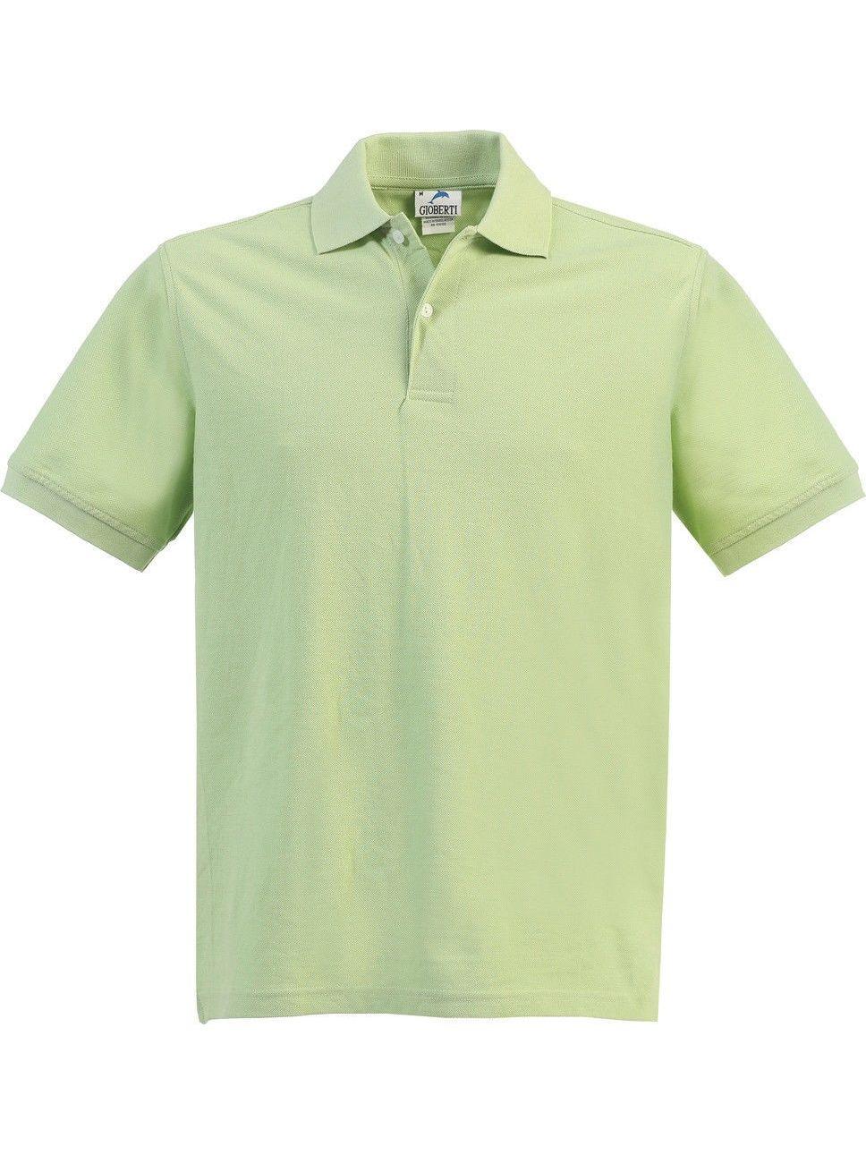 Boys Girls Paradise Green Short Sleeve School Uniform Polo Shirt 8-16