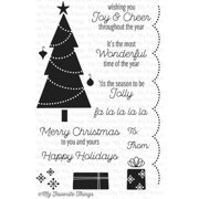 My Favorite Things Lisa Johnson Designs Stamps 4 Inch X 6 Inch-Tri