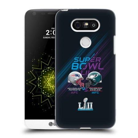 OFFICIAL NFL 2018 SUPER BOWL LII VERSUS HARD BACK CASE FOR LG PHONES