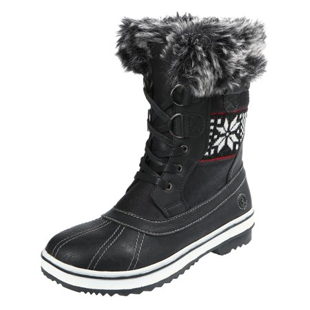 Northside Womens Brookelle Fully Lined Mid Winter Fashion