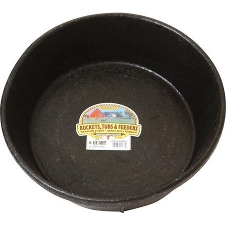 Manufacturing HP8 Rubber Feed Pan for Dogs and Horses, 8-Quart Miller