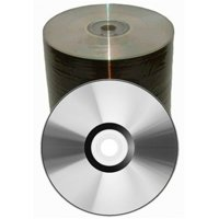 100 Spin-X 52x CD-R 80min 700MB Clear Coat Top