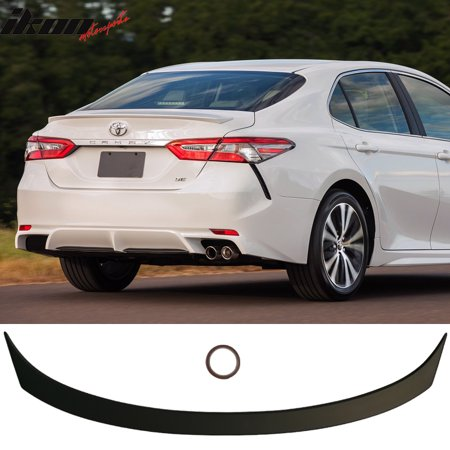 Fits 18-19 Toyota Camry OE Style Flush Mount Trunk Spoiler (Toyota Camry Trunk Wing)