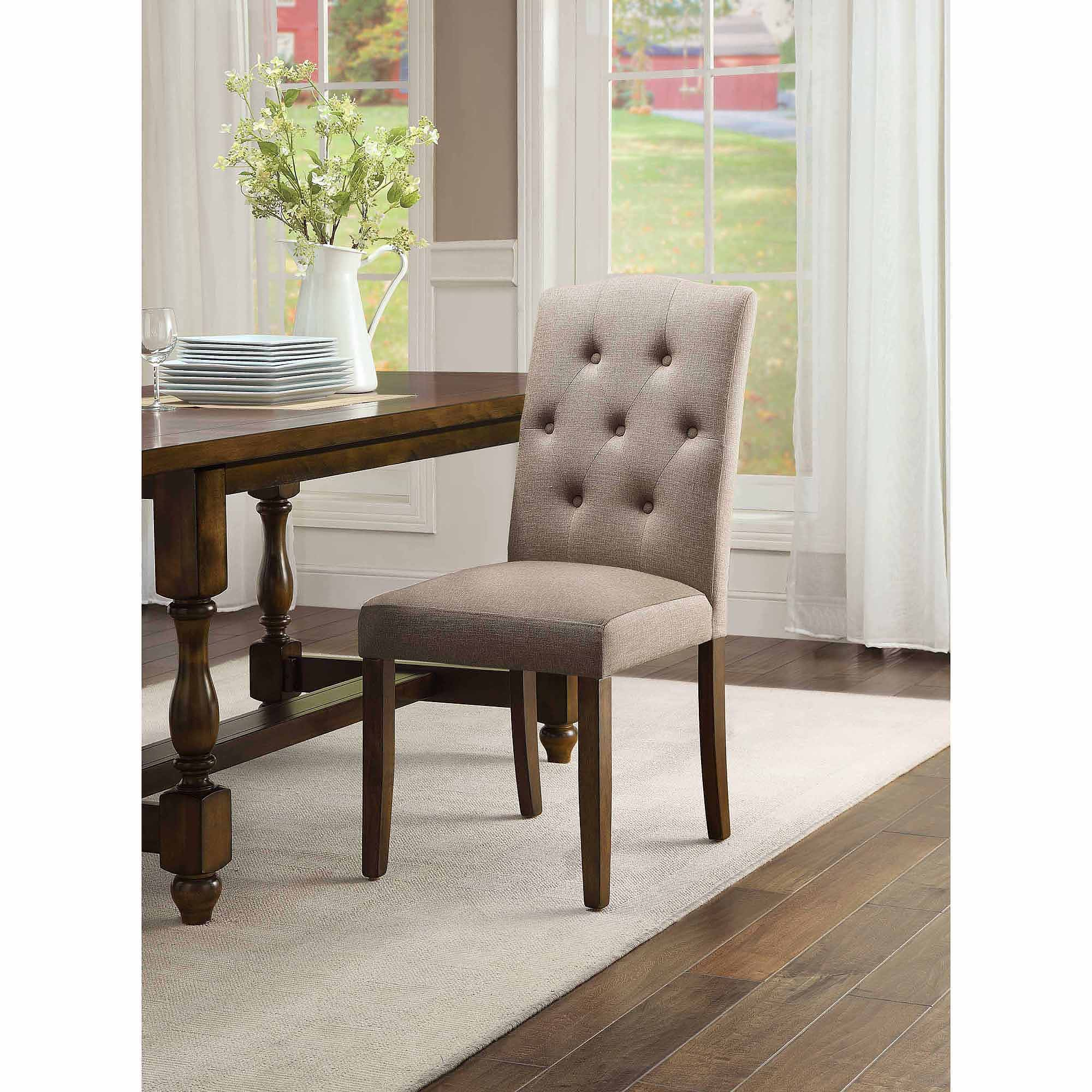 Better Homes and Gardens Providence Upholstered Chair, Beige