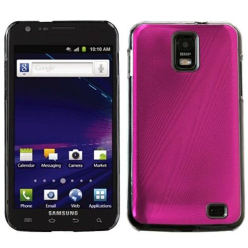 Insten Hot Pink Cosmo Back Case for SAMSUNG: i727 (Galaxy S II Skyrocket)