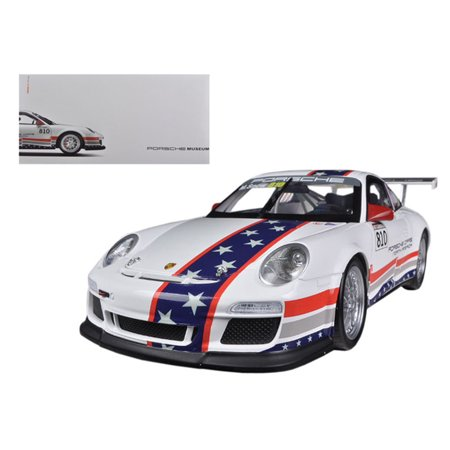 Porsche North America Team 911 GT3 CUP USA # 810 Museum Collection 1/18 Diecast Model by Welly