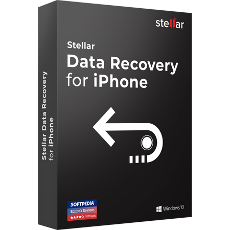 Stellar Data Recovery For iPhone Software | For Windows | Standard | Recover Deleted Photos, Videos, Contacts, Messages from iPhone & iPad | 3 Device, 1 Yr Subscription | CD (Text Message Recovery Software)