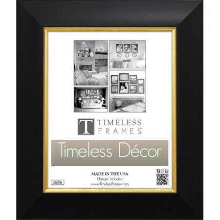 Timeless Frames 78596 Jordan Black Gold Wall Frame, 16 x 20 (Air Jordan 1 Black And Gold For Sale)