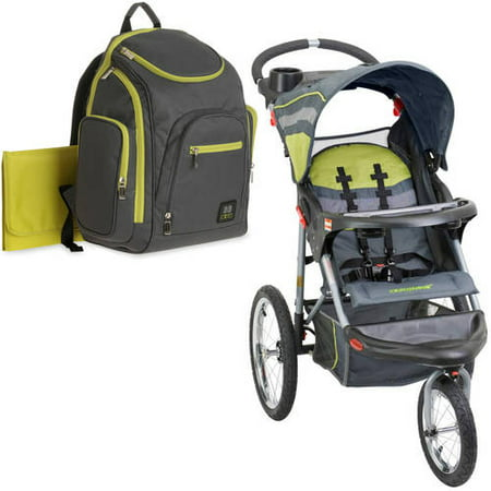 Baby Trend Expedition Jogging Stroller Carbon With Diaper