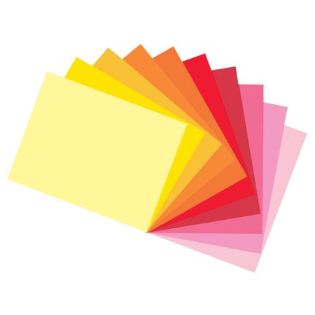 Acid Free Construction Paper - Tru-Ray 12 x 18 In. Sulphite Acid-Free Non-Toxic Construction Paper, Assorted Warm Color, Pack Of 50