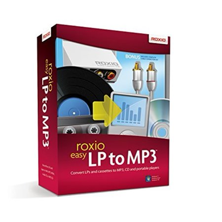 - Roxio Easy LP TO MP3 Software