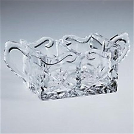 Crystal Sweet and Low Dish