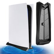 Vertical Stand for PS5 DE with Built-in Cooling Vents and Non-Slip Feet, TSV Cooling Game Storage Dock Specially fit for PS5 Digital Edition Console