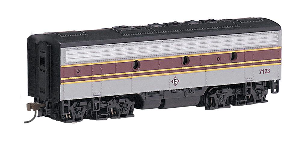 Bachmann Industries EMD F7-B Diesel Locomotive DCC Equipped Erie Lackawanna Train Car,... by Bachmann Trains