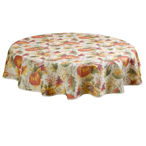 "Autumn Fall Table Runner 16/"" x 60/"" Heritage Lace Harvest Pumpkin"