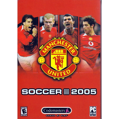 Manchester United Soccer 2005 PC DVD-Rom - Play as Over 250 European Clubs in 2-4 Player