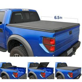 Lund 950294 Genesis Tri Fold Tonneau Fits 19 Sierra 1500 Silverado