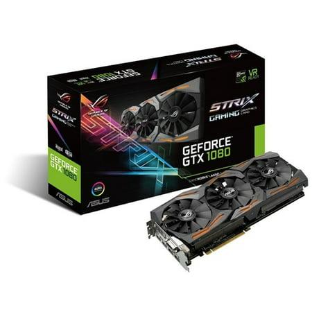 Asus Strix-Gtx1080-A8G-Gaming Graphics Card - STRIX-GTX1080-A8G-GAMING Asus Gddr3 Graphics Card