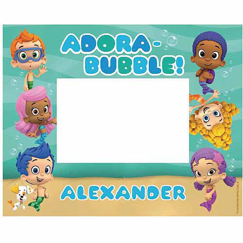 Personalized Bubble Guppies Picture Frame