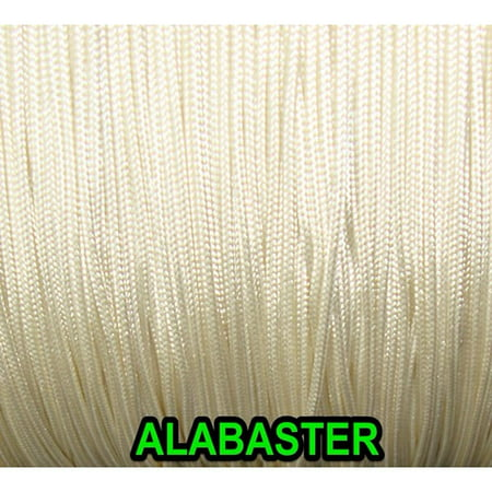 - 50 FEET:1.6 MM ALABASTER LIFT CORD for Blinds, Roman Shades and More