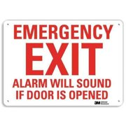 LYLE U7-1078-RA_14X10 Safety Sign, Reflctv Alumi, 14inH x 10inW