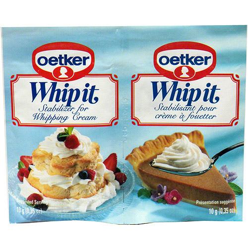 Dr. Oetker Whipping Cream Stabilizer, .35 oz (Pack of 30)