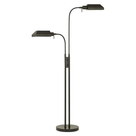 Cal Lighting Dual Height Pharmacy Floor Lamp Walmart Com