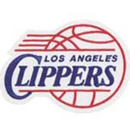 LOS ANGELES CLIPPERS NBA LOGO PATCH