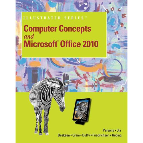 Computer Concepts and Microsoft Office 2010