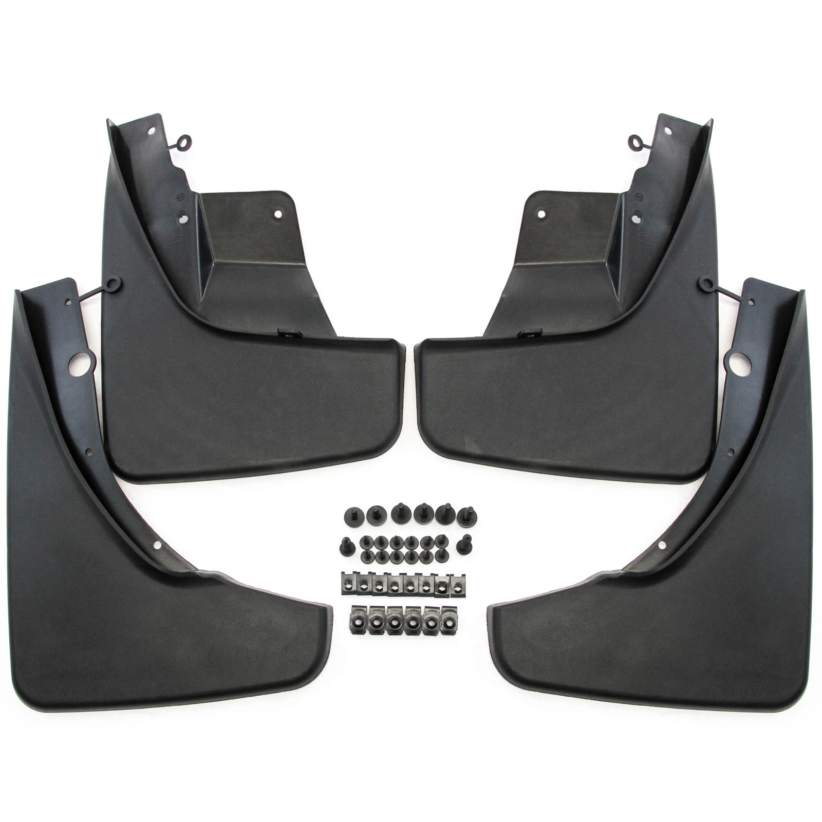 Husky Liners 58121 Black Front Mud Guards Fits 2014-18 Jeep Cherokee