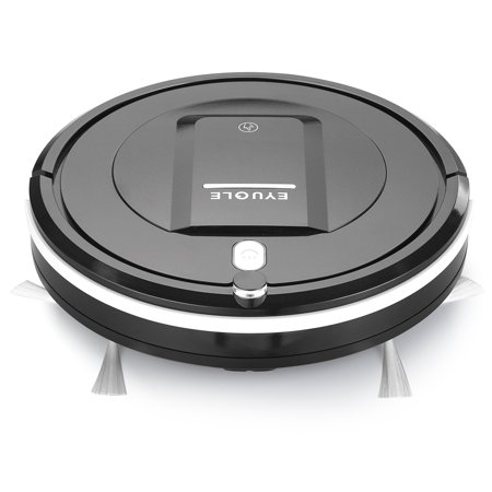 Automatic Robot Vacuum Cleaner - Robotic Home Cleaning for Clean Carpet Hardwood Floor, HEPA Pet Hair and Allergies Friendly -
