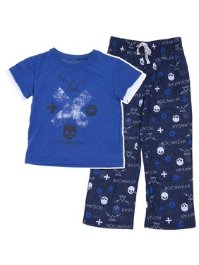 Black Little Boys Pajamas   Robes - Walmart.com aed507b43