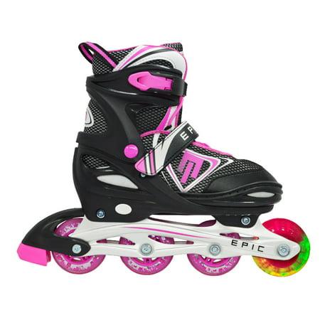 Fury Adults Adjustable Inline Skates