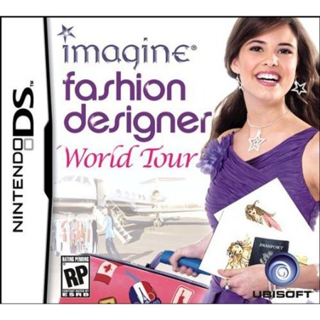 Imagine Fashion Designer World Tour Nintendo Ds Game