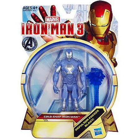 - Iron Man 3 Cold Snap Iron Man Action Figure