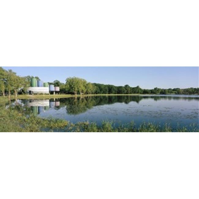 Reflection Of Trees In Water Warner Park Madison Dane County Wisconsin Usa Poster Print By 36 X 12 Walmart Canada
