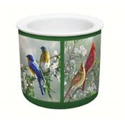 Counter Art CART54680 Beautiful Songbirds Dip Chiller