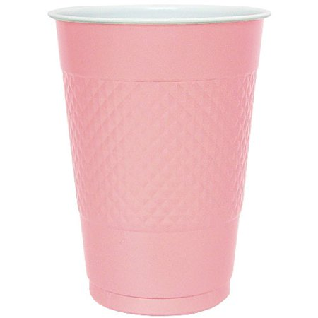 Hanna K Plastic Cups, , 18 Oz, Pink, 50 Ct](Plastic Beer Cups Wholesale)