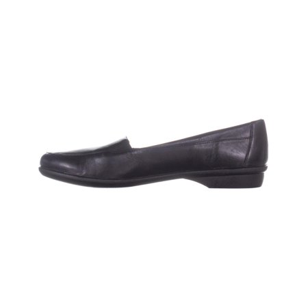 naturalizer Panache Slip On Flats Loafers, Black Leather - image 3 of 6