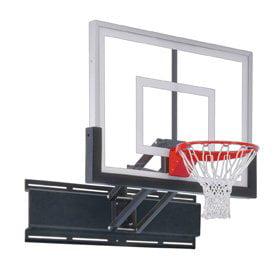 First Team UniChamp II Steel-Acrylic Adjustable Wall Mounted Basketball System44; Royal Blue
