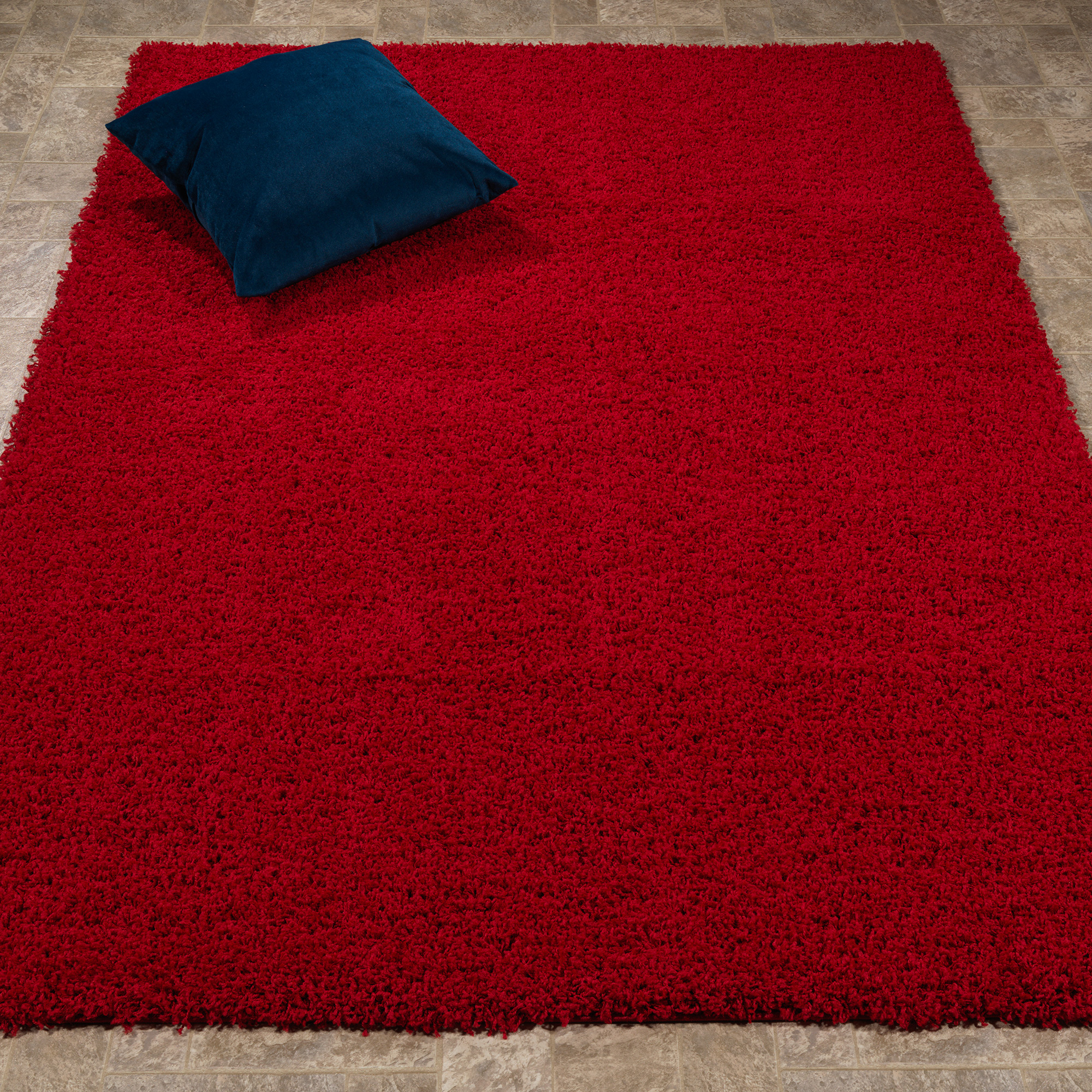 "Berrnour Home Berrland Solid Plush Soft Shag Living room & Bedroom Area Rug, 5'3"" X 7'0\ by Berrnour Home"