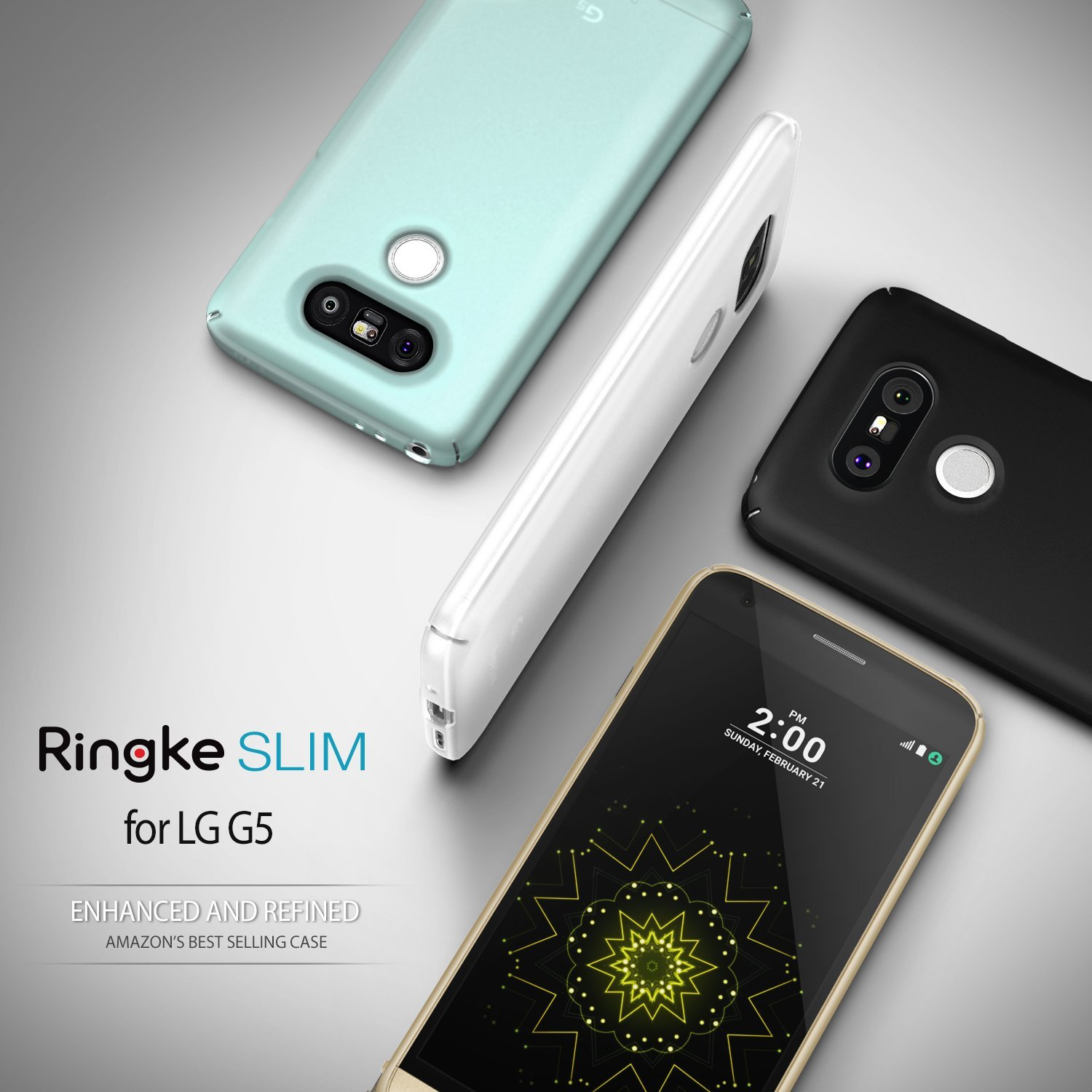 Lg G5 Case Ringke Royal Gold Slim Series Perfect Fit Scratch Rearth Iphone 7 Plus Resistant Protective Hard
