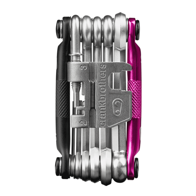 Multi Bicycle Tool (17-Function, Magenta)