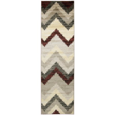 Rizzy Home Bay Side Power-Loomed Area Rug 2 Ft. 3 In. X 7 Ft. 7 In. Multicolored Model BYSBS359300042377