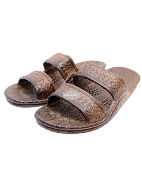 87691e5d4658 Product Image Pali Hawaii Dark Brown Jesus Hawaiian Sandals Jandals